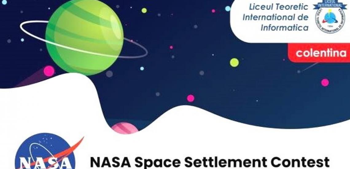 Nasa Space Settlement Contest a adus și anul acesta multe premii elevilor din Școlile Lumina